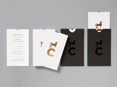 Design Work Life » Studio Botes: Cavalli Identity and Collateral