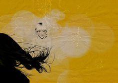 Wall Photos #sexy #mode #hair #digital #illustration #photoshop #fragil #fashion #drawing
