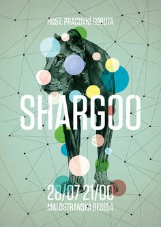 Shargoo, by Pavel Fuksa #inspiration #creative #design #graphic #colorful #poster #teal