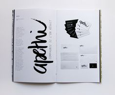 Portfolio 2014 on Behance #layout