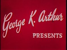 A SHORT VISION: Ed Sullivan's Atomic Show Stopper - a knol by Bill Geerhart #type #movie #cinema #typography