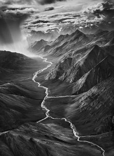 Genesis - Photography by Sebastião Salgado #white #black #landscape #photography #valley #and #mountains