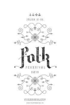 FLK by Reka Imre, via Behance