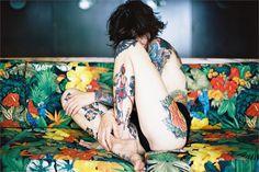 Can Dağarslanı #tattoo #woman #pattern