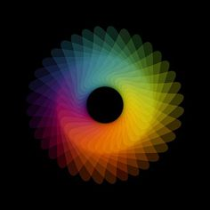 Google Reader #rainbow #color #colour #spiral