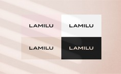 LAMILU Corporate Design - Mindsparkle Mag Anastasia Gorodova designed LAMILU Corporate Design. LAMILU is a women's clothing brand. #logo #packaging #identity #branding #design #color #photography #graphic #design #gallery #blog #project #mindsparkle #mag #beautiful #portfolio #designer