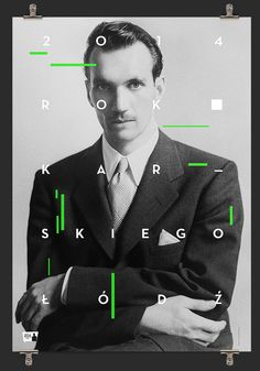 100th Anniversary of the Jan Karski's birth on Behance #design #graphic #photography #poster #typography