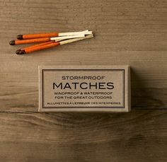 That Kind Of Woman #packaging #matches #typography