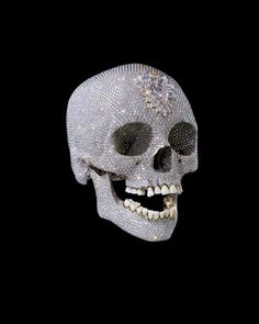 For the Love of God - Damien Hirst #diamond #contemporary #hirst #art #skull #damien