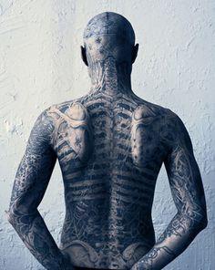 body tattoo, back