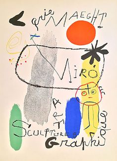 Miro. Fine Artists doing posters