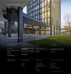 Mies van der Rohe Society Website | Gridness
