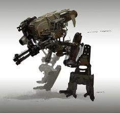 J.PARKED sketch #mill-tech #mecha