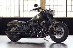 2016 Harley Davidson Softail Slim S #HarleyDavidson #Military #SoftailSlimS