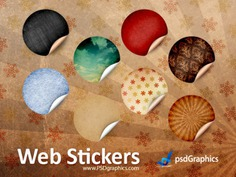 Round retro stickers, psd template Free Psd. See more inspiration related to Template, Retro, Web, Round, Stickers, Psd, Website template, Blank and Horizontal on Freepik.