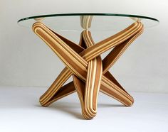 Bamboo Coffee Table by J.P.Meulendijks - #design, #furniture, #modernfurniture,