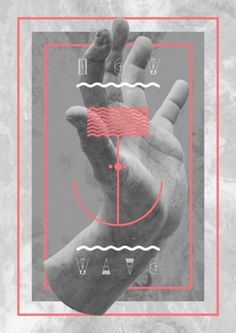 Graphic Porn #graphic design #illustration #geometry #hand #shapes #framed