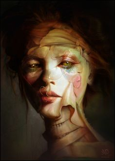 Unique beauty by Algalad on deviantART #portrait #corpse #girl