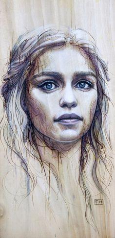 Daenerys #highlights #digital #illustration #art