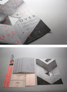 Crossover Festival Branding by Jonathan Finch & Stephanie Oglesby | Inspiration Grid | Design Inspiration #editorial