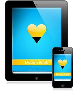 Demo #heart #doodlebook #ipad #iphone #app #pencil