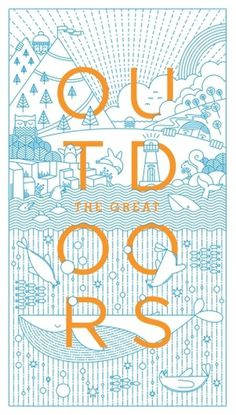 The Great Outdoors | Nicework Ramble #outdoors #illustration #warwick #kay