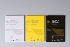 Rooftop Cinema | COÖP #graphic design