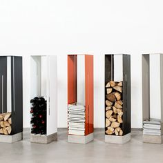 Visualiser #metal #wood #cement #storage