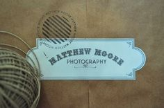 design work life » Emma Robertson: Matthew Moore Identity #logo #branding