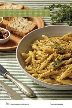 06 | Caserecce pesto di pistacchi e timo, via Flickr. #cooking #2013 #calendar #design #food #illustration #photography #calendars