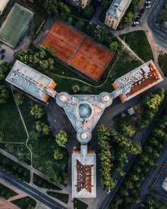 Strange and Surreal Abandoned Places of Russia From Above