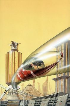 Vintage Future #future #transport #retro #vintage
