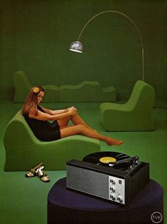 Vintage Dual catalogue | iainclaridge.net #turntable #retro #vintage #green