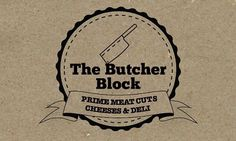 Logo design/branding for butcher shop and deli | Seek design - Interior, Exhibition & Graphic Designers, Dublin, Ireland #logo