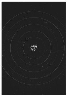 iamhingo #white #black #poster #serenity #typography