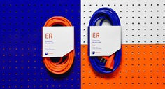Indumex - Bold orange and blue packaging designed to stand out in the world of industrial design.
