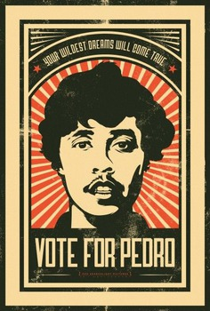 Image result for vote for pedro poster from movie