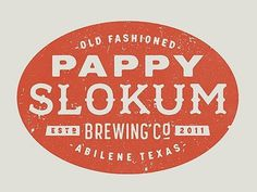 Dribbble - Pappy Slokum Logo by Ryan Feerer #logo