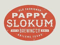 Dribbble - Pappy Slokum Logo by Ryan Feerer #logo