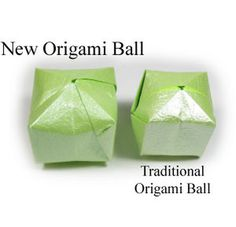 How to make a new origami ball (balloon) (http://www.origami-make.org/howto-origami-ball.php)