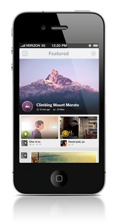 iPhone App UI #jeremiah #shaw #ui #iphone #app