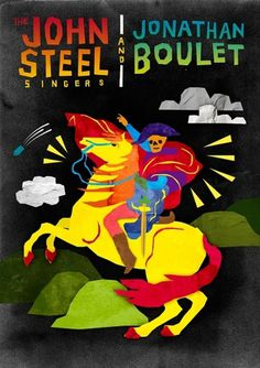 steel & boulet poster - georgiaperry #design #illustration