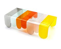 Coffee Table from Murano Glass by Alessandro Zambelli for Secondome - InteriorZine
