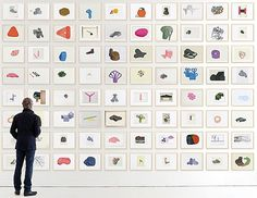 Ronan & Erwan Bouroullec – Album: Exhibitions: Collage: Vitra.com #design #creative #process #drawings #museum #vitra #bouroullec