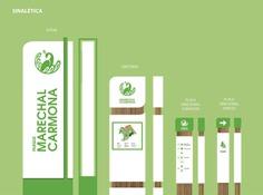 Wayfinding | Signage | Sign | Design | Branding Wayfinding - Parque Marechal Carmona