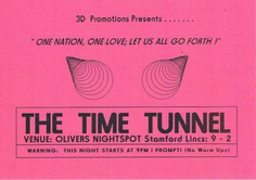Time Tunnel 1992 February - Hardcore Flyers