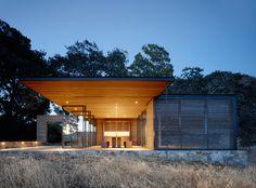 Walker Warner Architects Designed Three Unique Wine Tasting Pavilions for a Vineyard