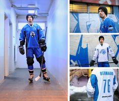 Tigres de garges roller hockey team #uniform