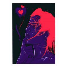 love // contrast. #art #artist #portrait #love #contrast #illustrator #illustration #designinspiration #arts_help #topcreator #localsmd #po