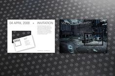 Corporate Identity, 809cgi on the Behance Network #photo #pattern #card #invitation